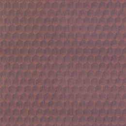 What The Hex - Polygon Plum Wallcover