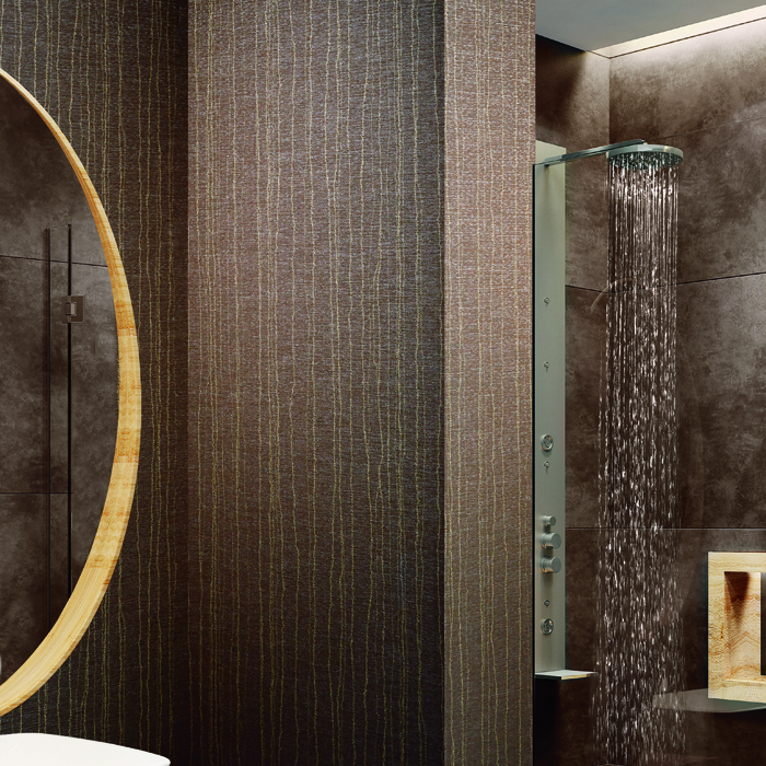 Canton Rainsilk Wallcover by National Solutions