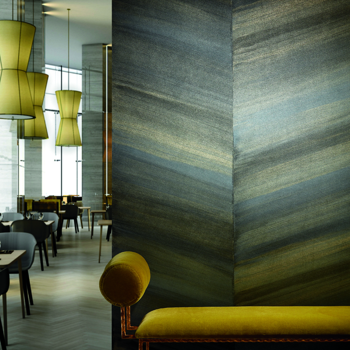 Farrah Chevron Wallcover by National Solutions